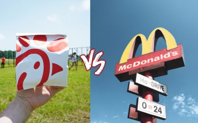 A Battle Between McDonald and Chic-Fil-A